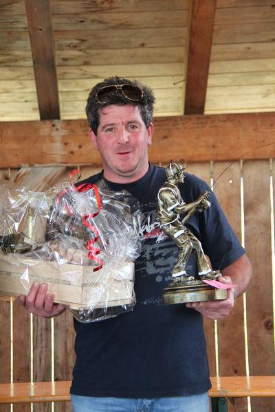 Premiazione gara di pesca sociale anno 2015
